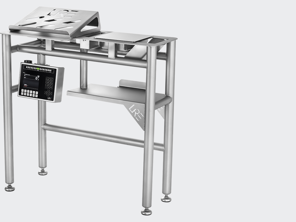 Compact & Ergonomic Weighing Table