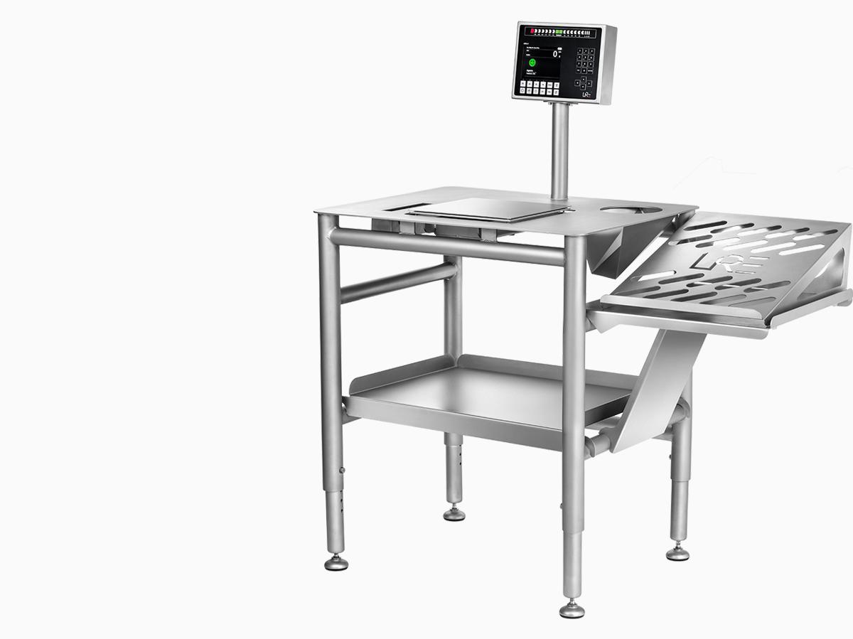 Modulair & Ergonomic Weighing Table