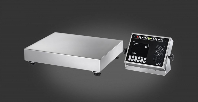 Smart scale which easily can be built-in a production line.