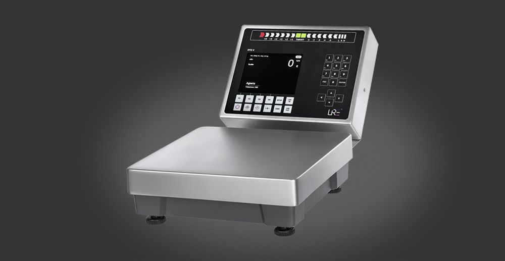 Smart scale which easily can be used at multiple locations in the company.