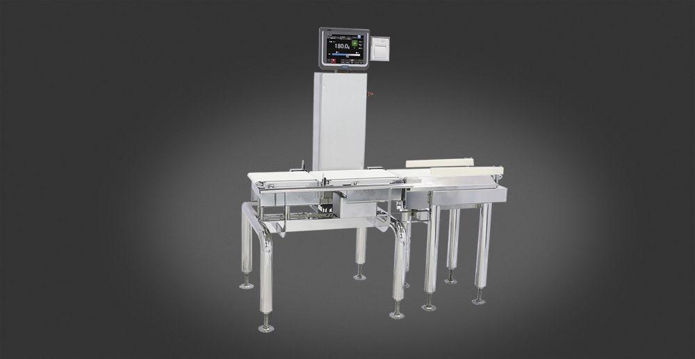 Checkweigher solutions to control each package on quality and weight.